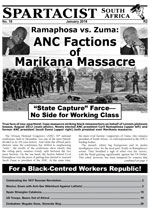 Spartacist South Africa No. 14